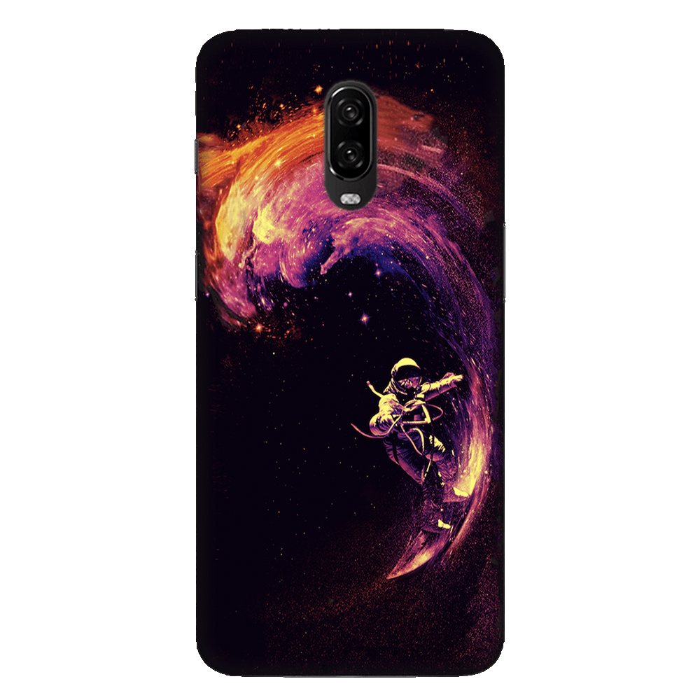 Space Surfing Case Cover - OnePlus 6T - CASE U