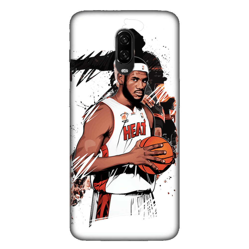 Lebron James Basketball Case Cover - OnePlus 6T - CASE U
