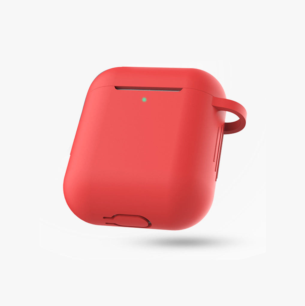 AirPods Red Silicone Protective Case Cover