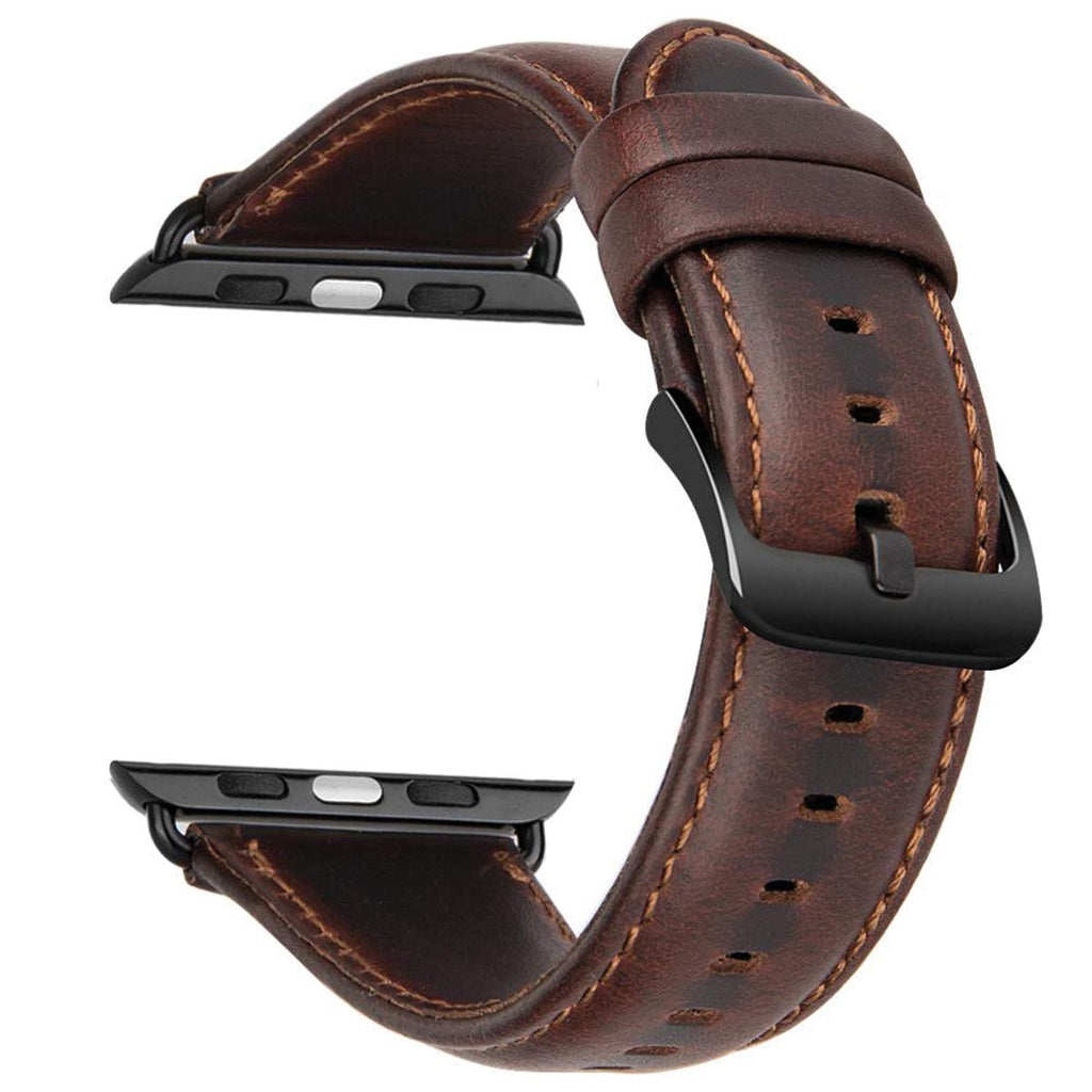 Leather Strap for  iWatch (Series 5/4) - CASE U
