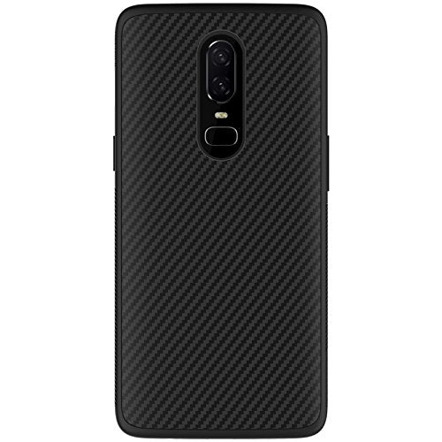 Karbon Fiber Tough Armor Back Cover - OnePlus 6 - CASE U