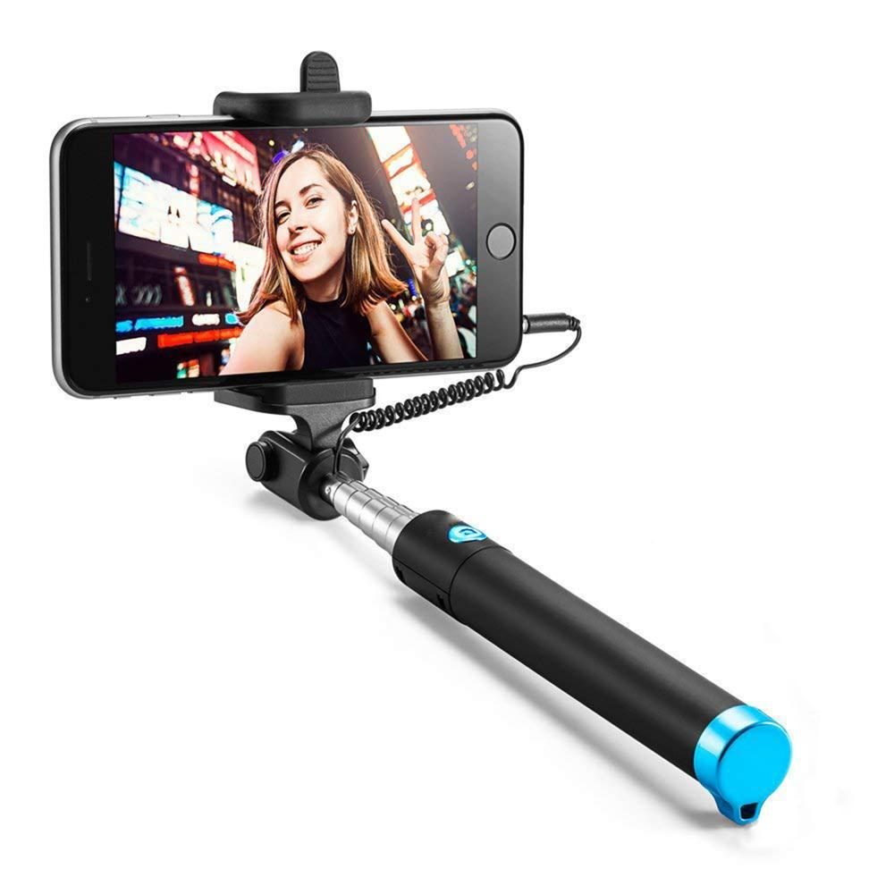 Case U Extendable [Battery Free] Wired Selfie Stick - CASE U