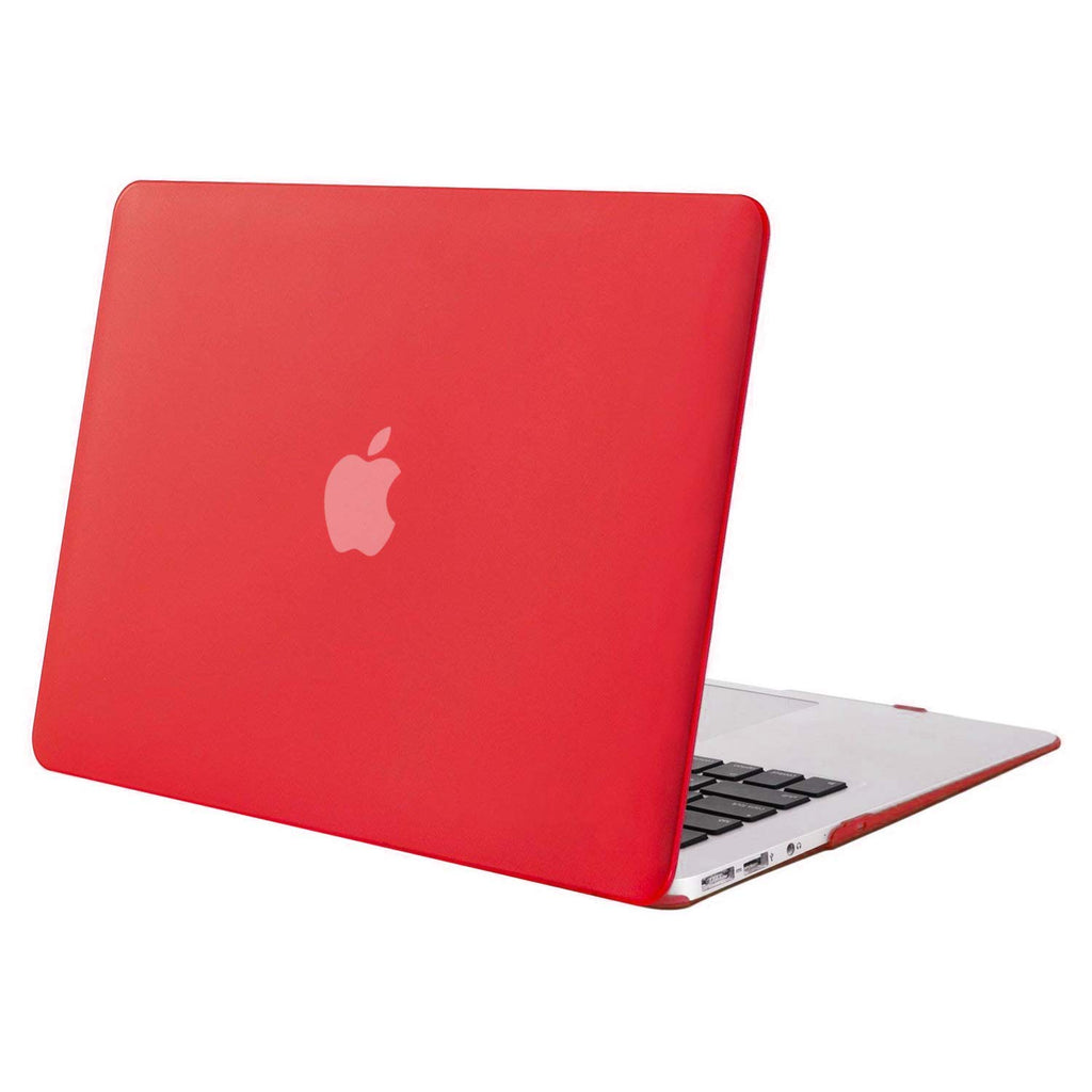 "Red Hard Shell Cover - MacBook Air 13"" - CASE U"