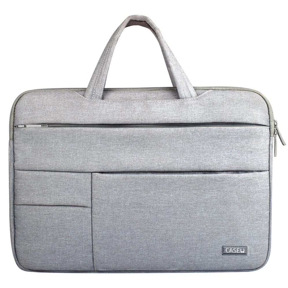 15 inch Laptop Sleeve Bag (Grey) - CASE U