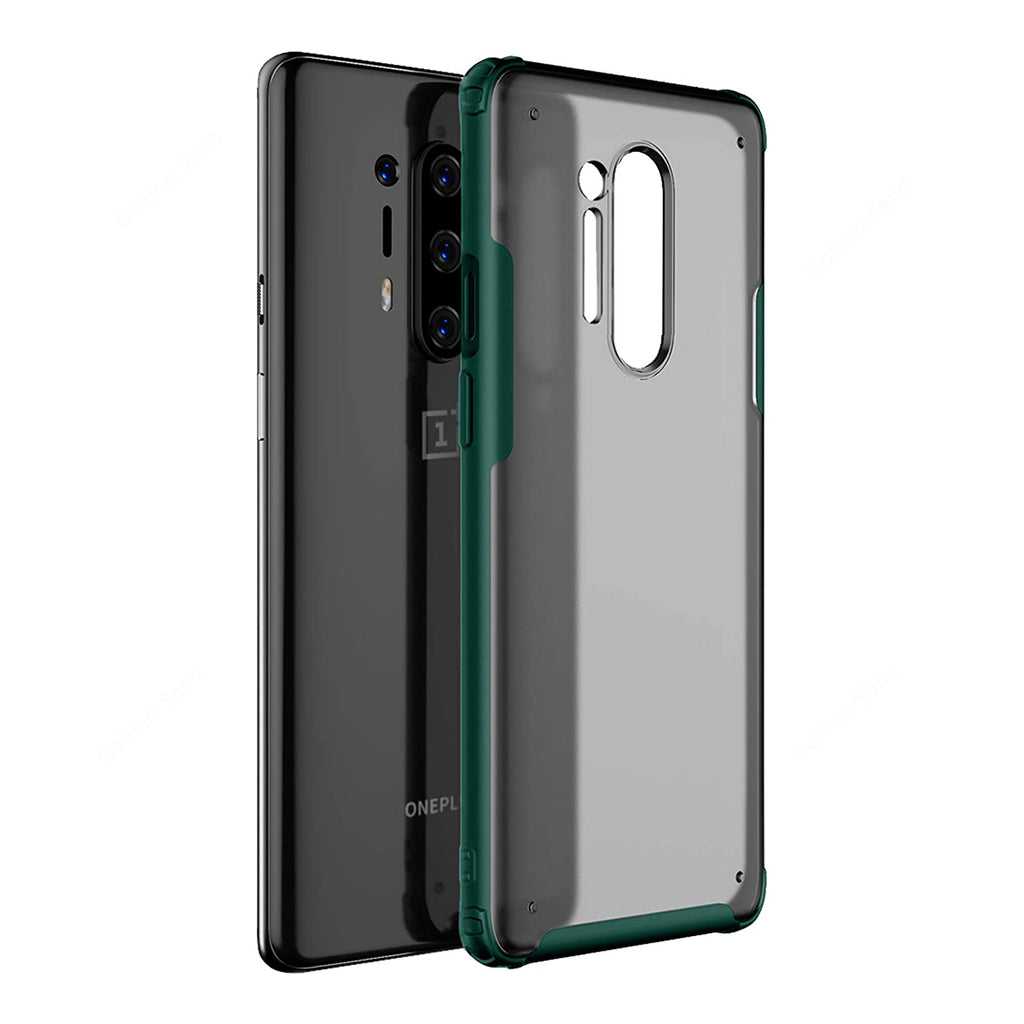 Frosted Semi-Transparent Back Cover  - OnePlus 8 Pro - CASE U