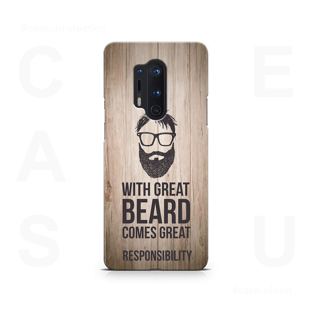 Great Beard Case Cover - OnePlus 8 Pro