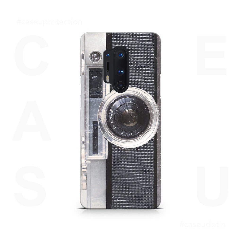 Vintage Camera Case Cover - OnePlus 8 Pro
