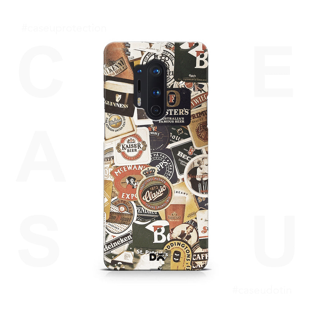 Beers Of The World Case Cover - OnePlus 8 Pro