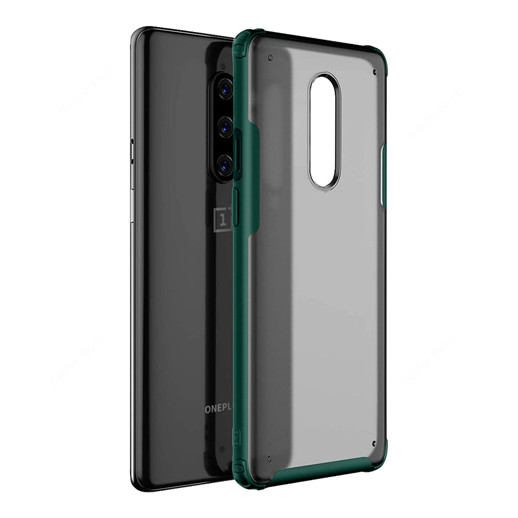 Frosted Semi-Transparent Back Cover  - OnePlus 8 - CASE U