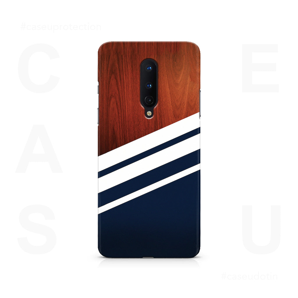 Navy Blue Madera Case Cover - OnePlus 8