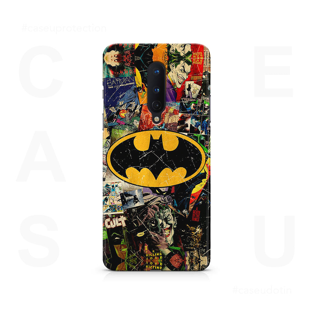 Batman Joker Comic Case Cover - OnePlus 8