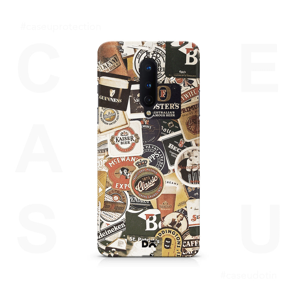 Beers Of The World Case Cover - OnePlus 8