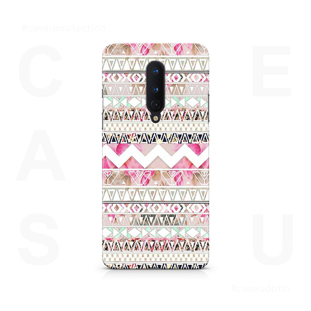 Aztec Pattern Case Cover - OnePlus 8