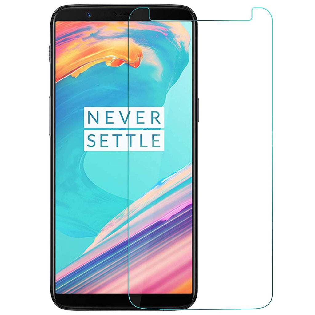Crystal Clear Tempered Glass - OnePlus 5T - CASE U