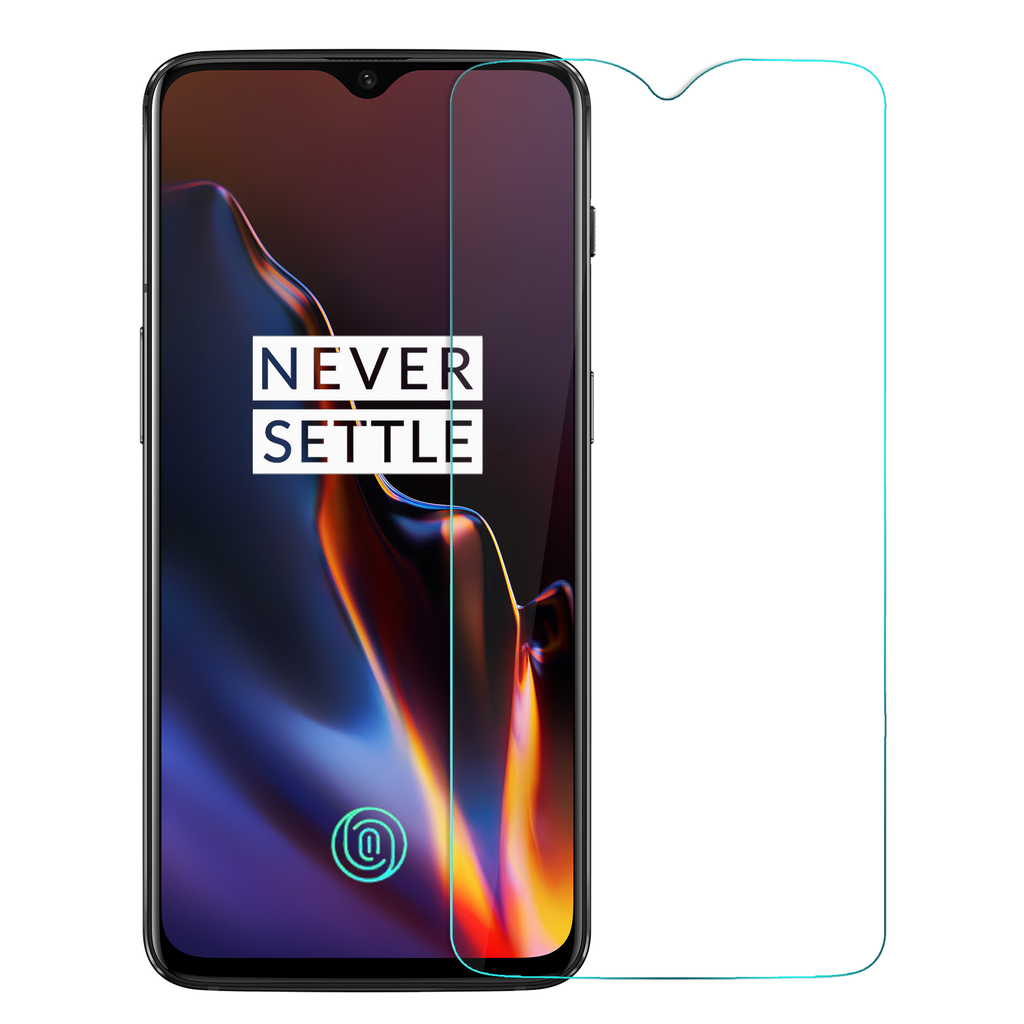Crystal Clear Tempered Glass - OnePlus 6T - CASE U