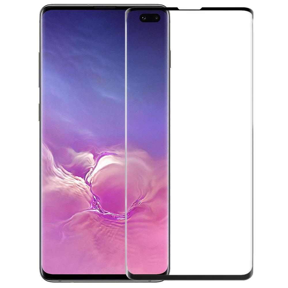 Black Shield Premium Tempered Glass - Samsung S10+ - CASE U