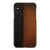 B&B Leather Stitched Case Cover - iPhone XS