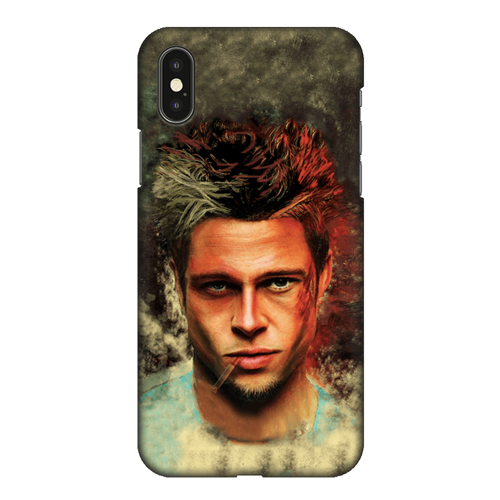 Brad Pitt Fight Club Case Cover - iPhone XS