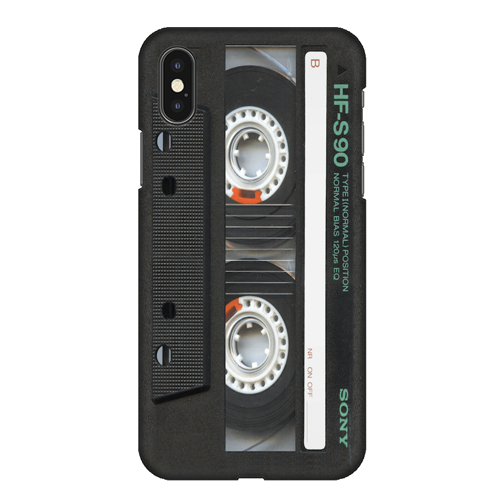 Sony Cassette Case Cover - iPhone XS