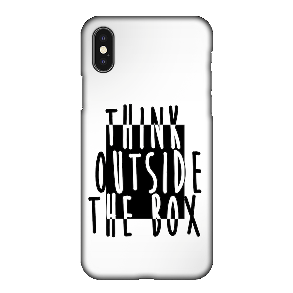 Think Outside of the Box Case Cover - iPhone XS Max