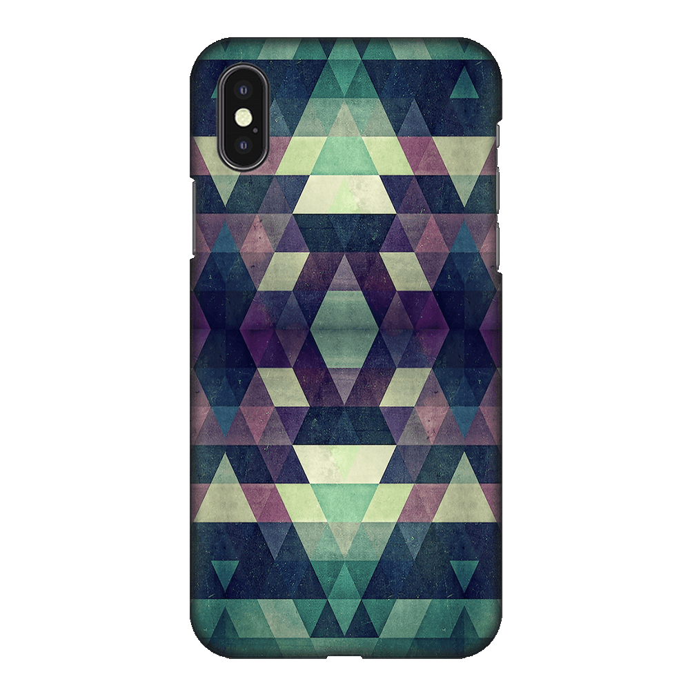 Abstract Patternic Case Cover - iPhone XS