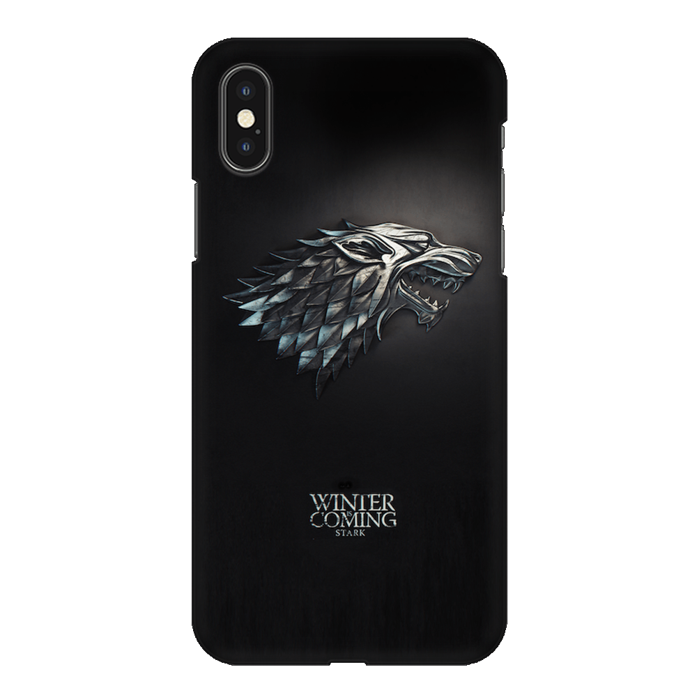 Winter Is Coming Case Cover - iPhone XS