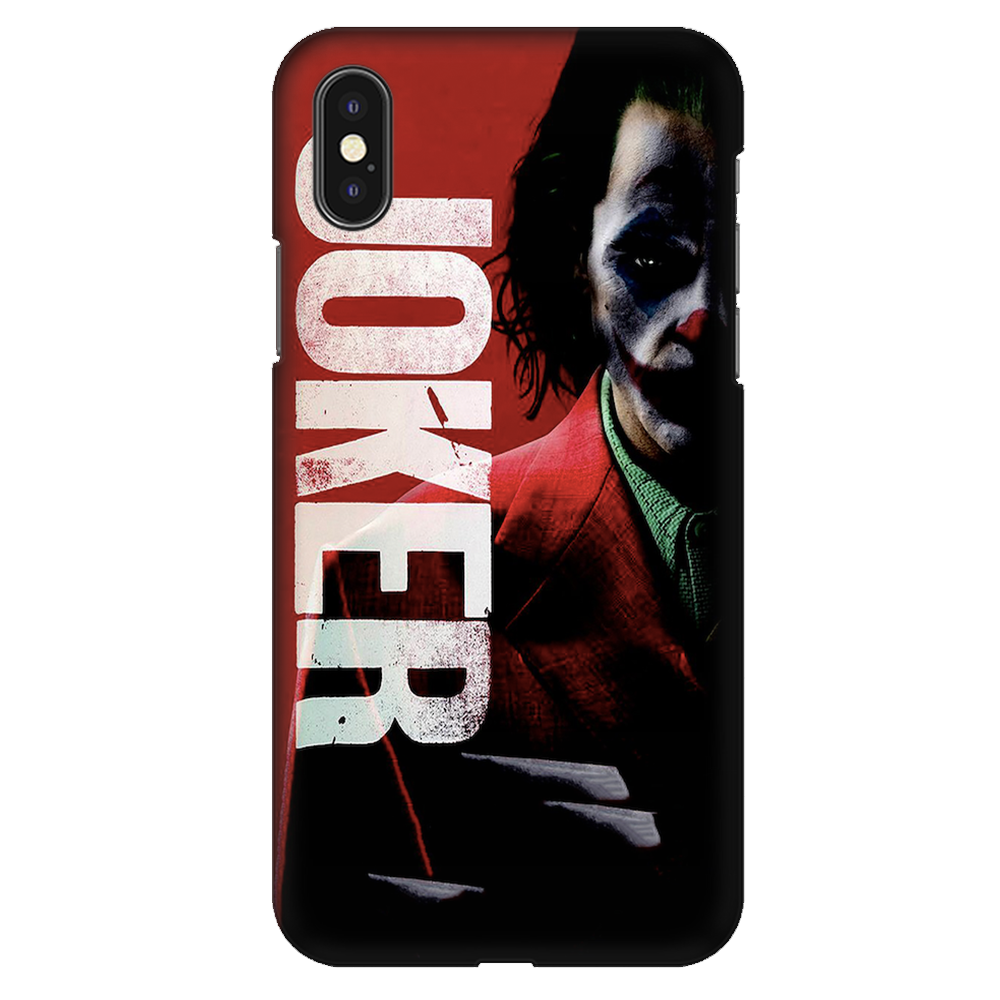 Joker (Joaquin Phoenix) Case Cover - iPhone XS
