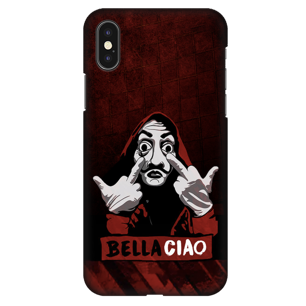 Bella Ciao Case Cover - iPhone XS