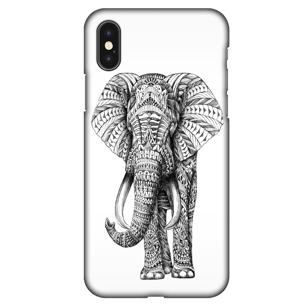 Ornate Elephant Case Cover - iPhone XS