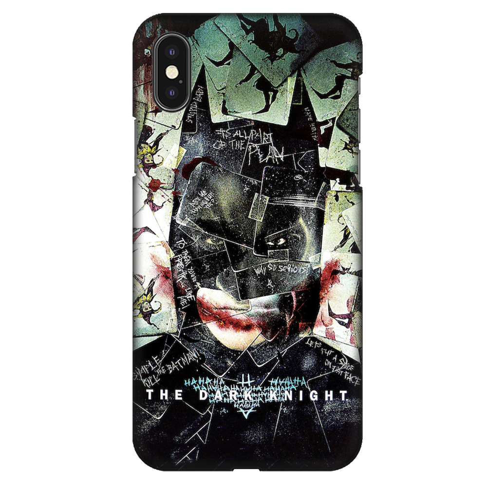 The Dark Knight Case Cover - iPhone XS