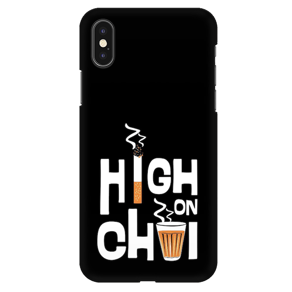 High on Chai Case Cover - iPhone XS