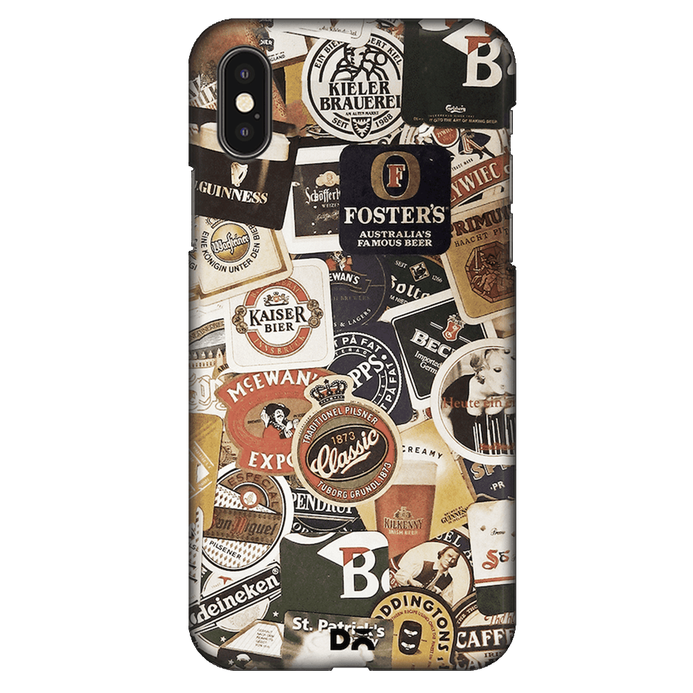 Beers Of The World Case Cover - iPhone XS Max