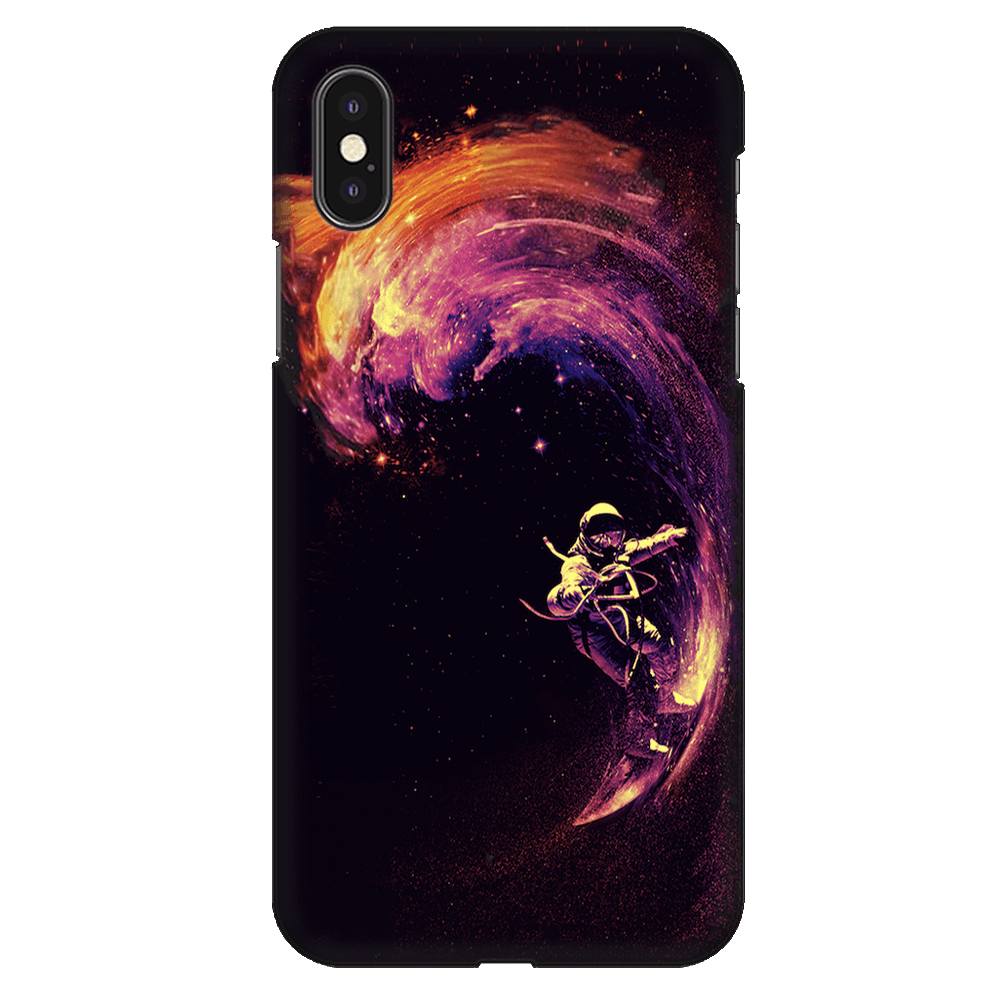 Space Surfing Case Cover - iPhone XS