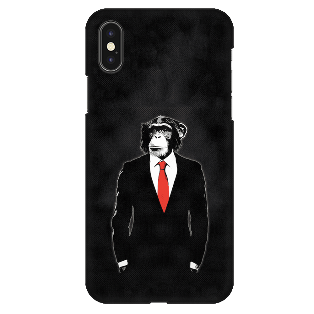 Domesticated Monkey Case Cover - iPhone XS