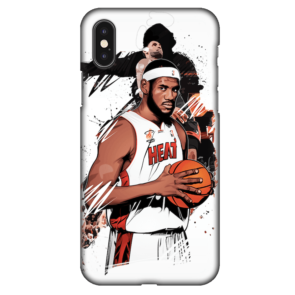 Lebron James Basketball Case Cover - iPhone XS