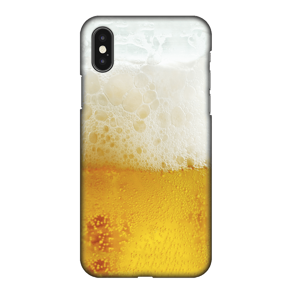 Beer Glass Case Cover - iPhone XS