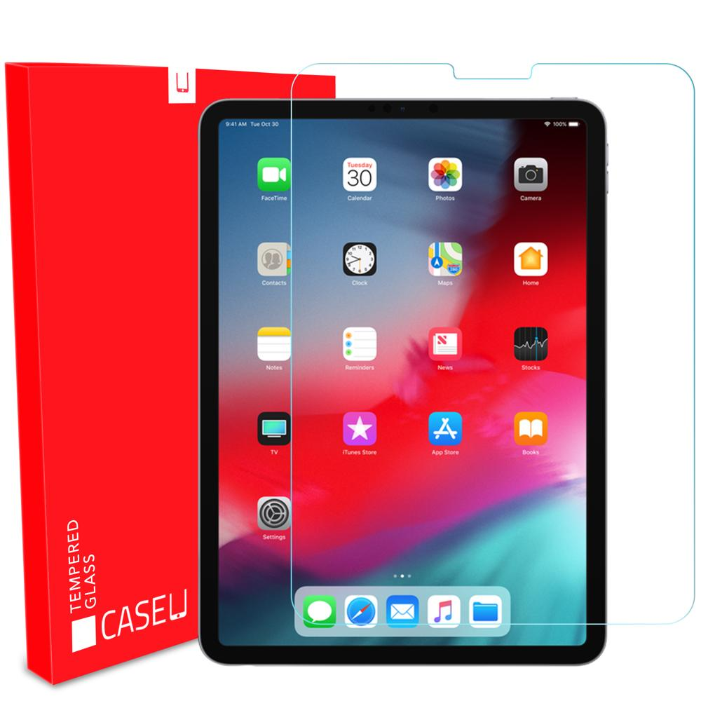 "Crystal Clear Tempered Glass - iPad Pro 11"" - CASE U"