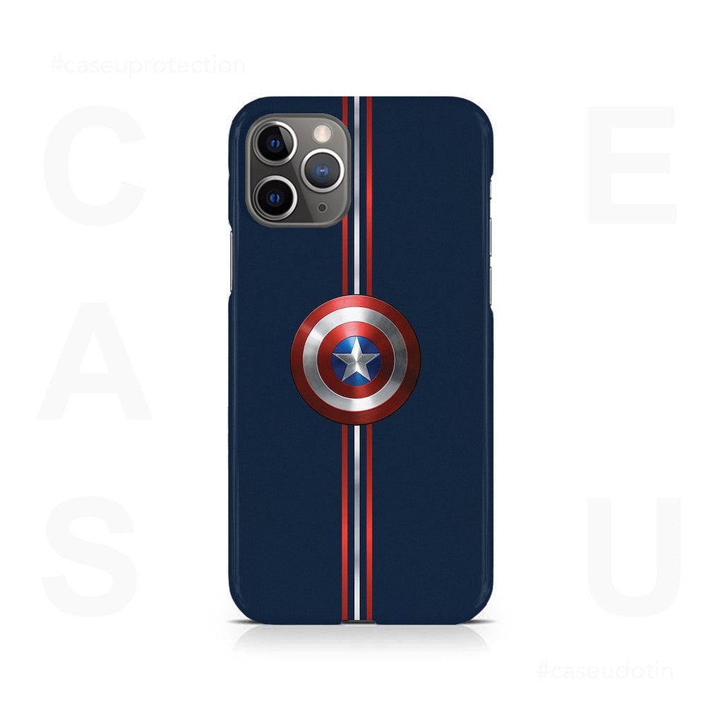 Captain America Shield Case Cover - iPhone 11 Pro Max