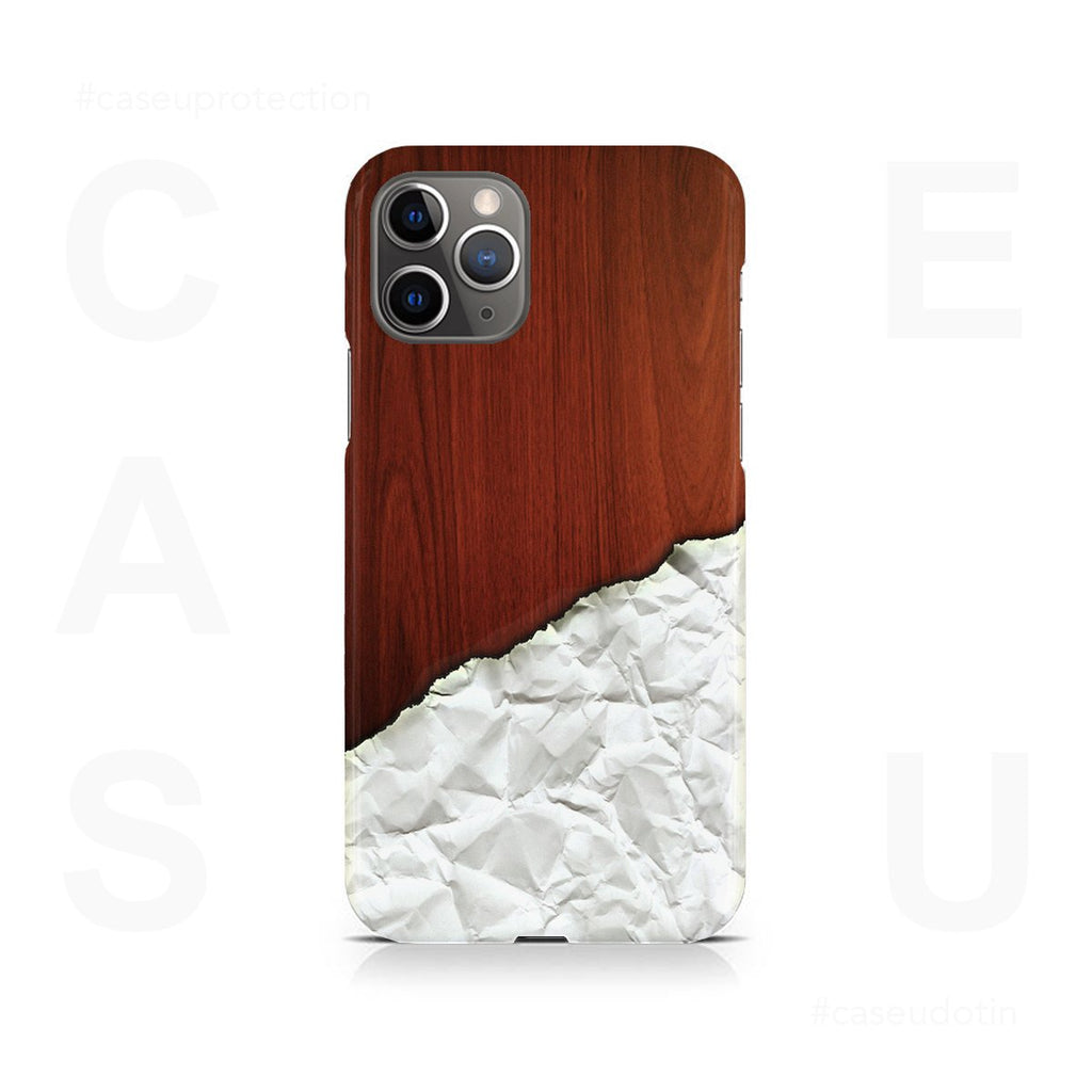 Crumbled Paper Artwork Case Cover - iPhone 11 Pro Max