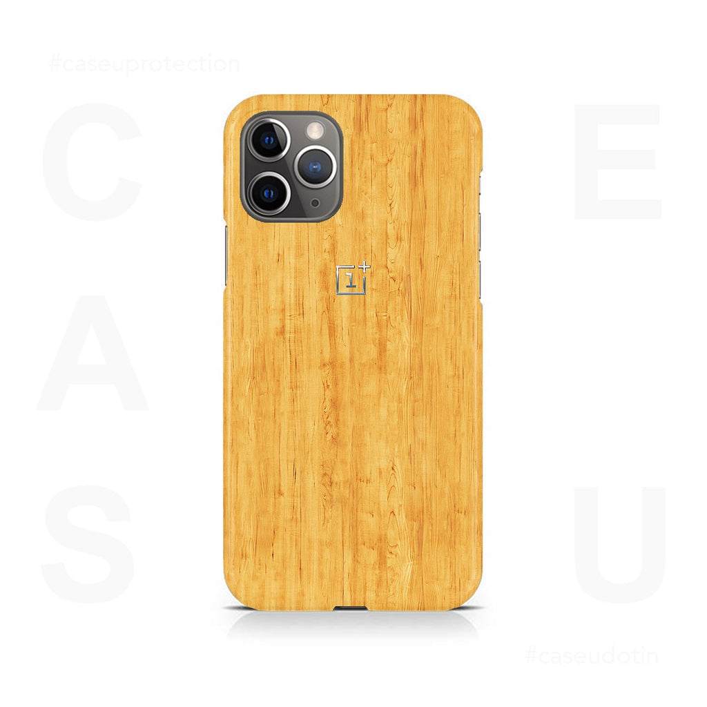 Faux Wooden Texture Case Cover - iPhone 11 Pro Max