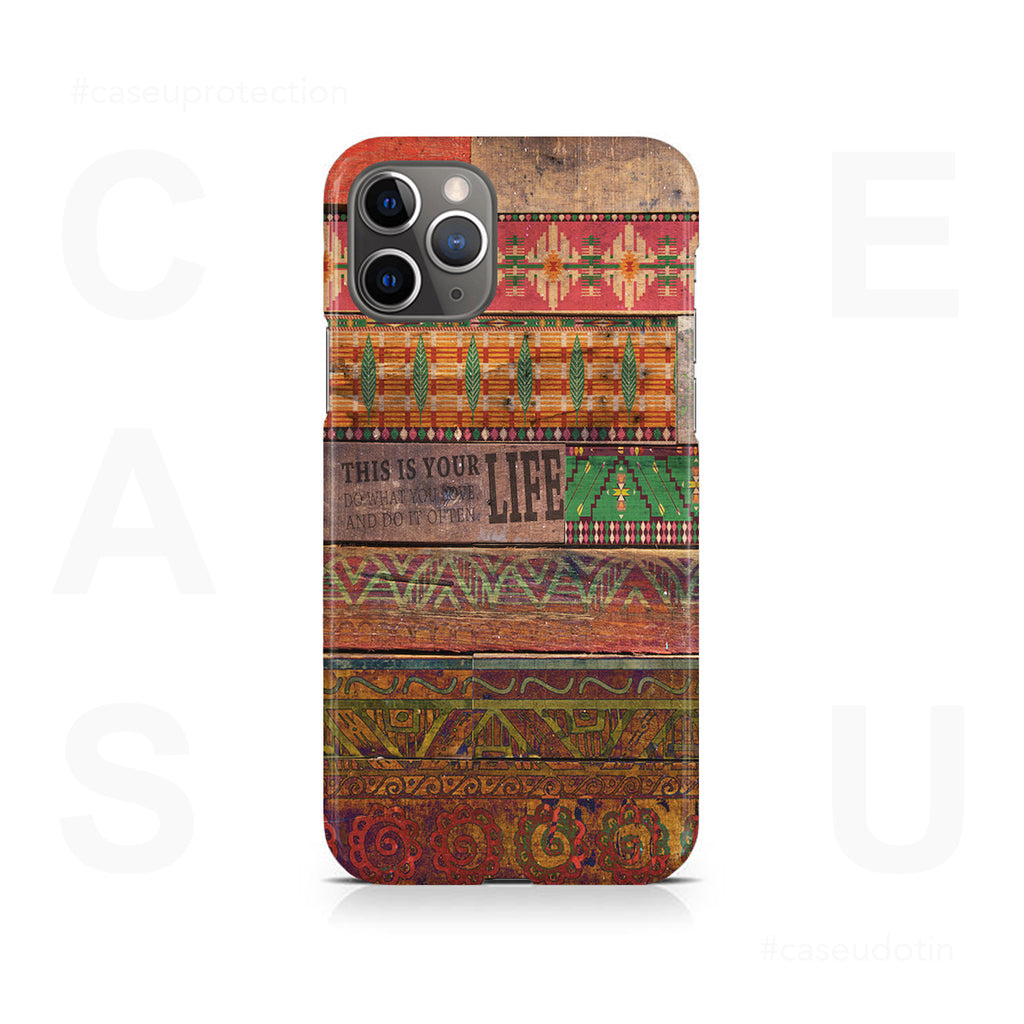 Wooden Art Case Cover - iPhone 11 Pro