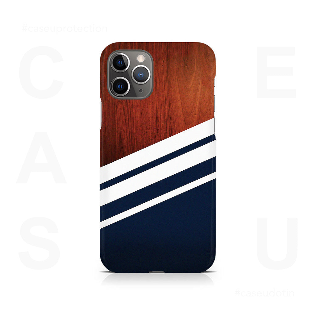 Navy Blue Madera Case Cover - iPhone 11 Pro