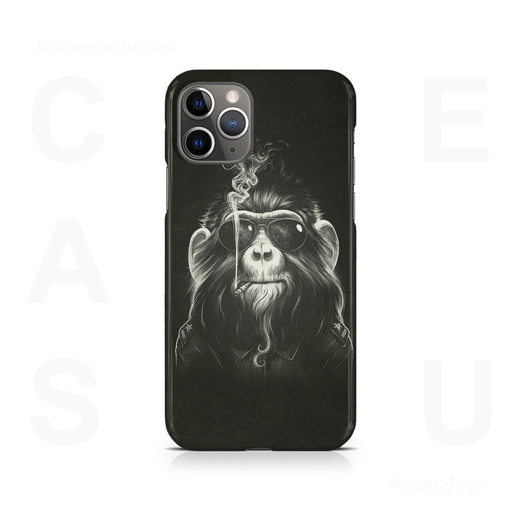 Gangster Smoker Ape Case Cover - iPhone 11 Pro