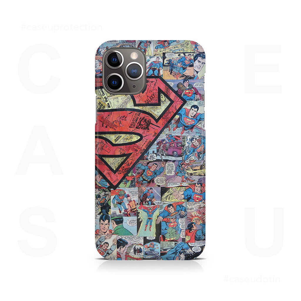 Superman Comic Case Cover - iPhone 11 Pro