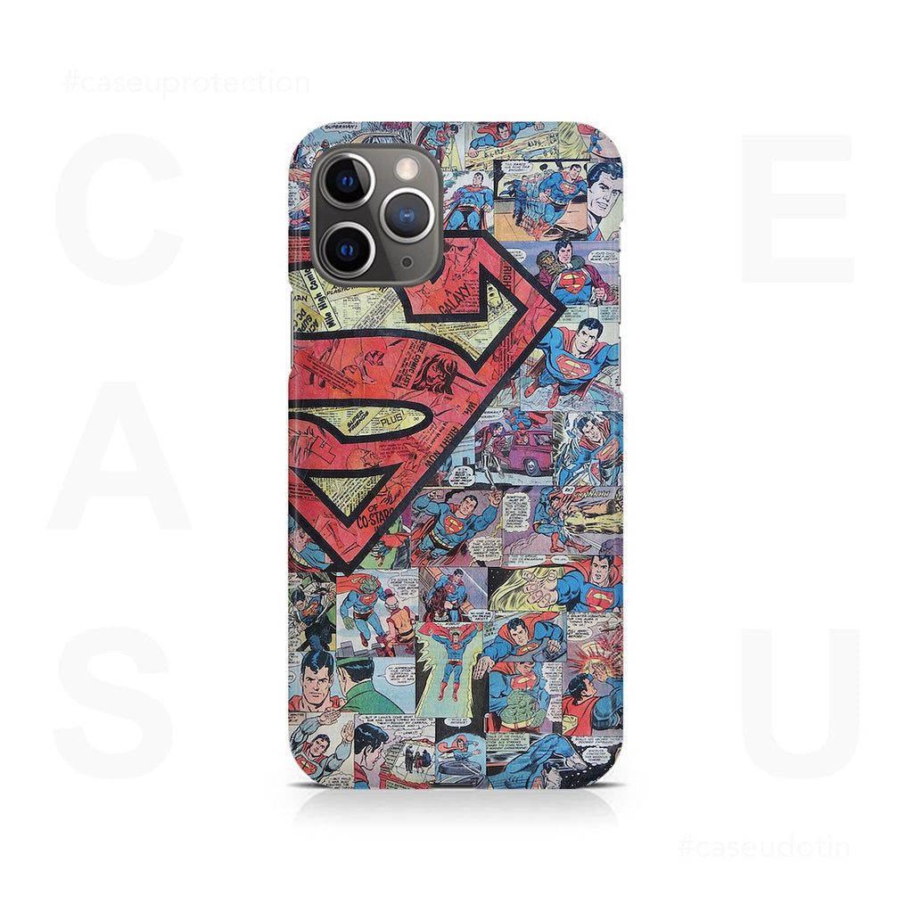 Superman Comic Case Cover - iPhone 11 Pro Max
