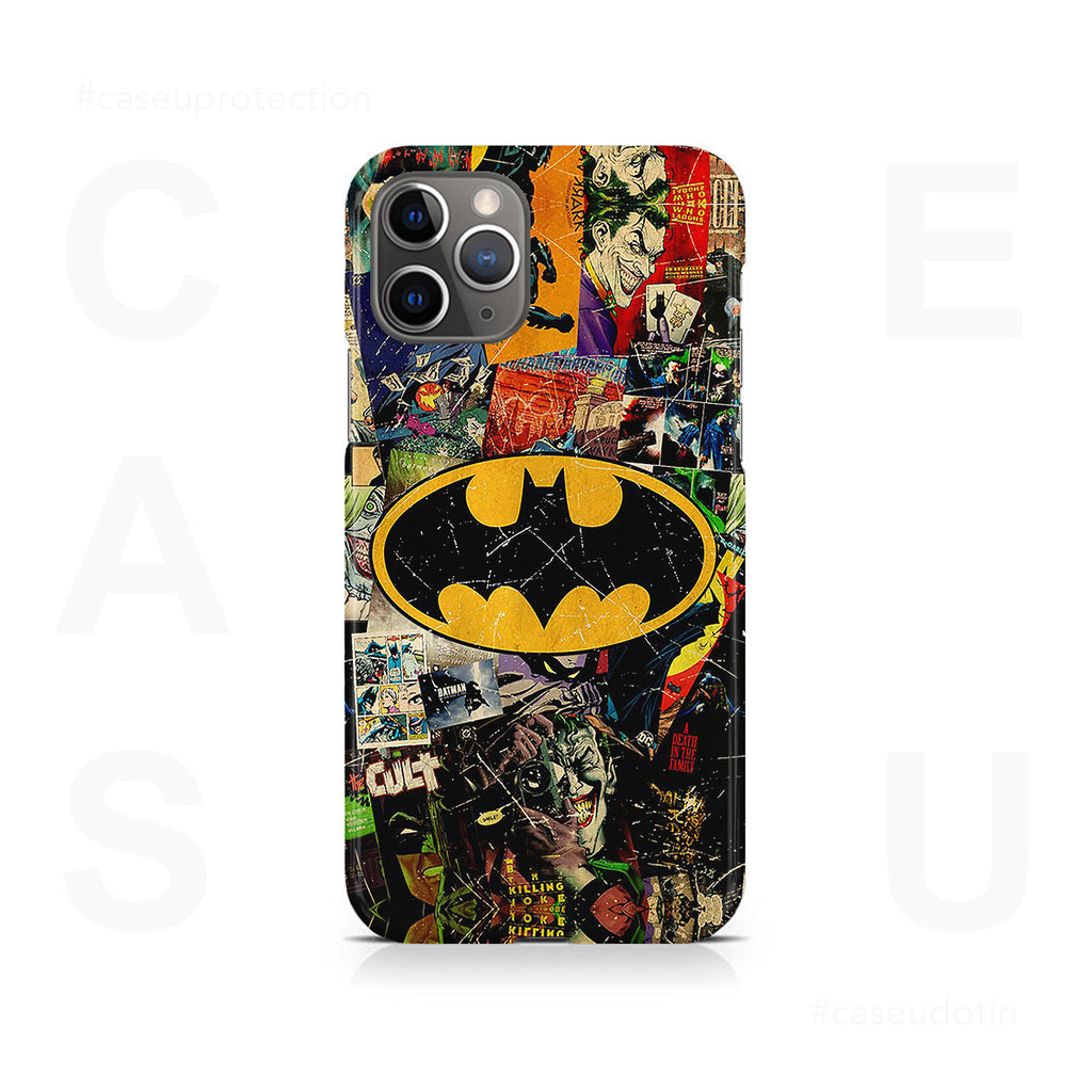 Batman Joker Comic Case Cover - iPhone 11 Pro