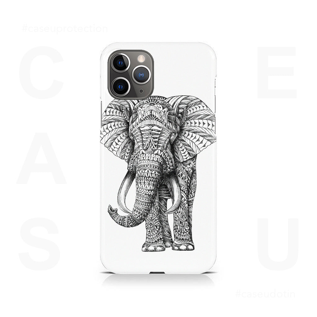 Ornate Elephant Case Cover - iPhone 11 Pro