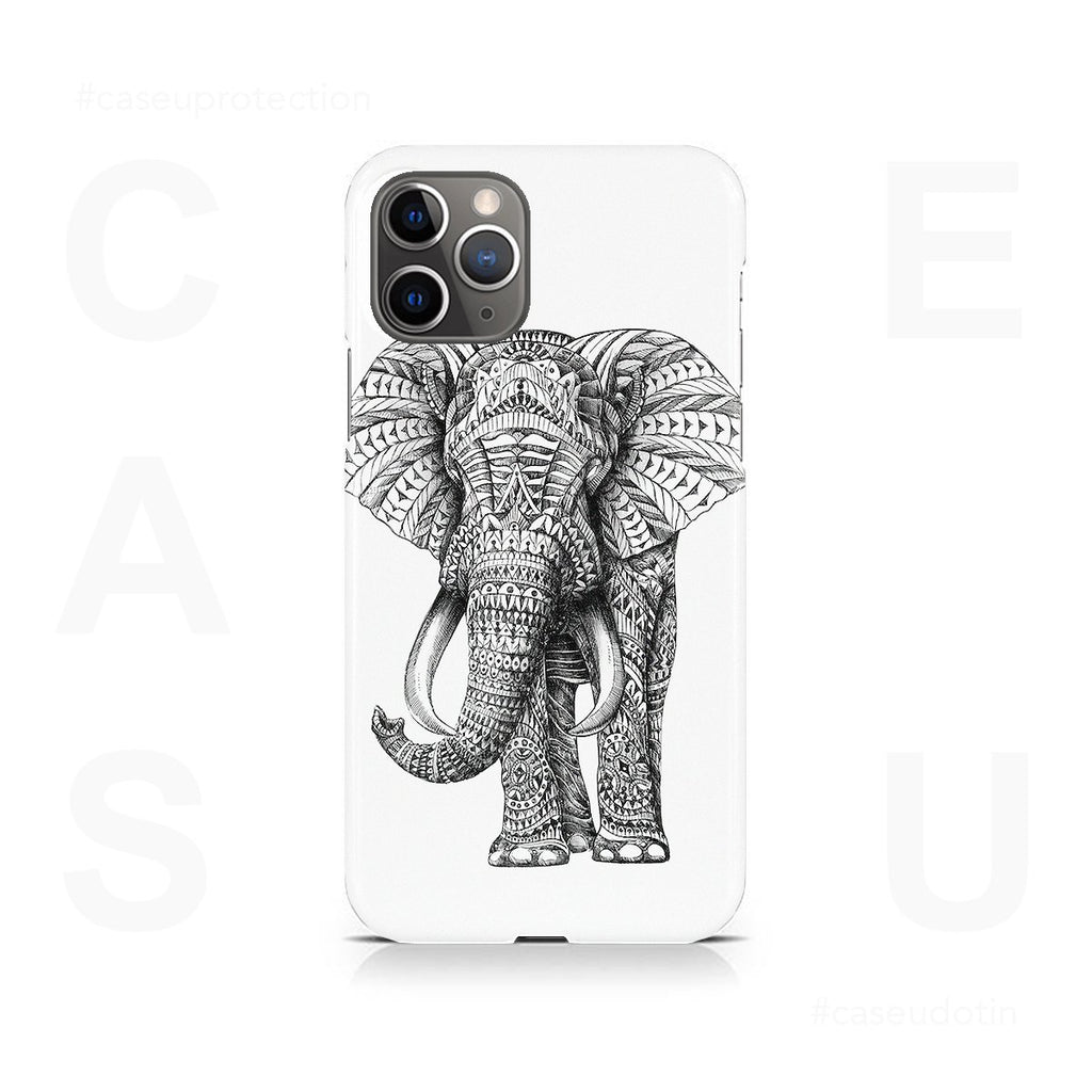 Ornate Elephant Case Cover - iPhone 11 Pro Max
