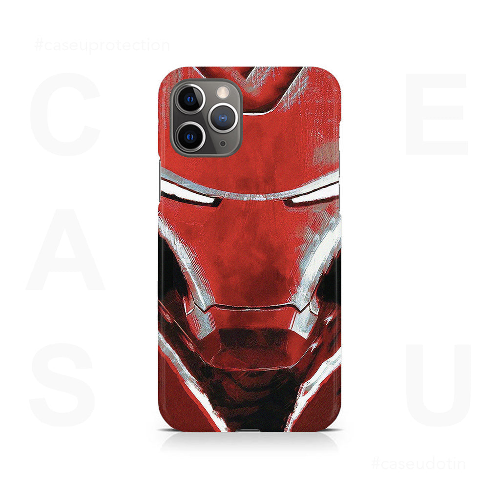 Charcoal Art Iron Man Case Cover - iPhone 11 Pro