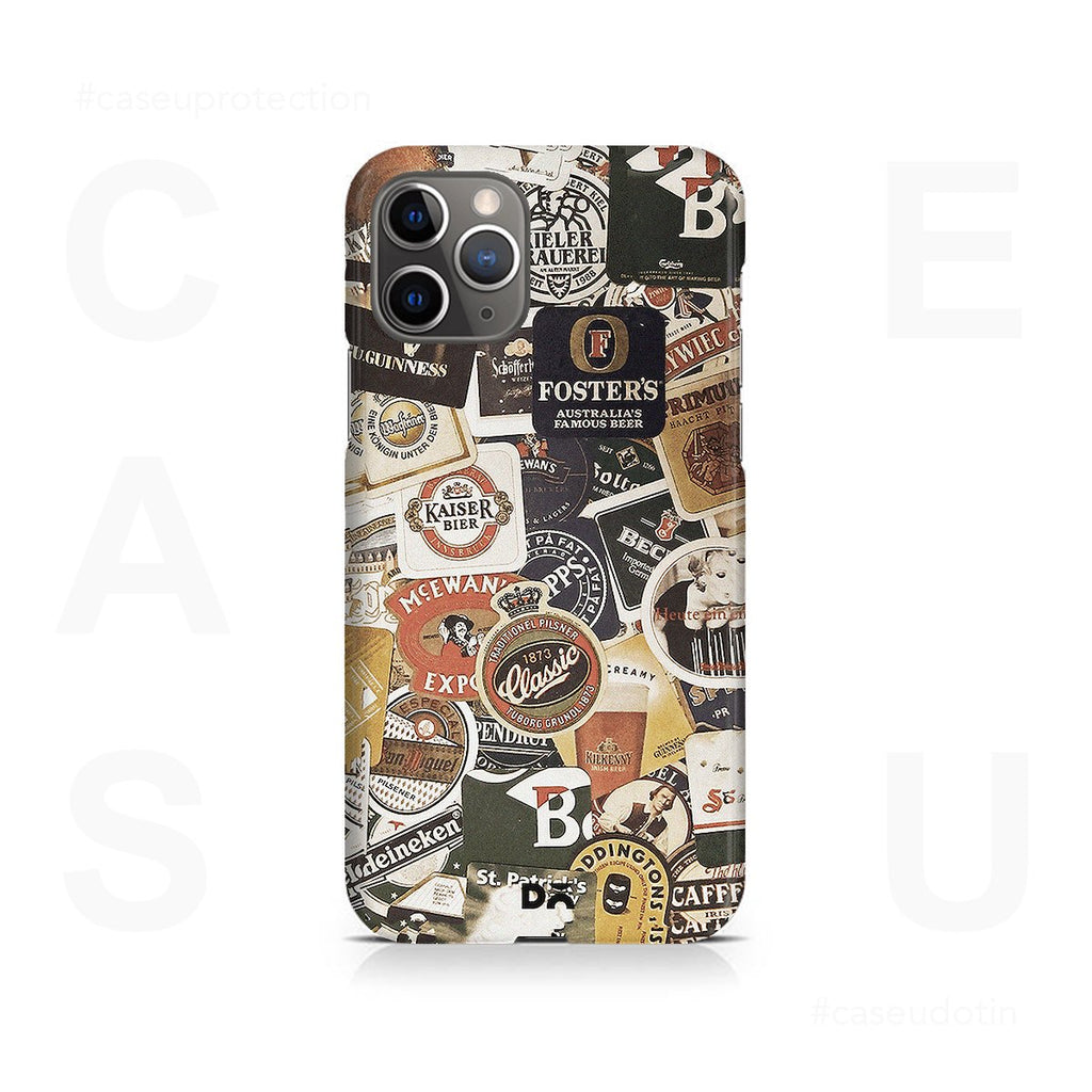 Beers Of The World Case Cover - iPhone 11 Pro Max